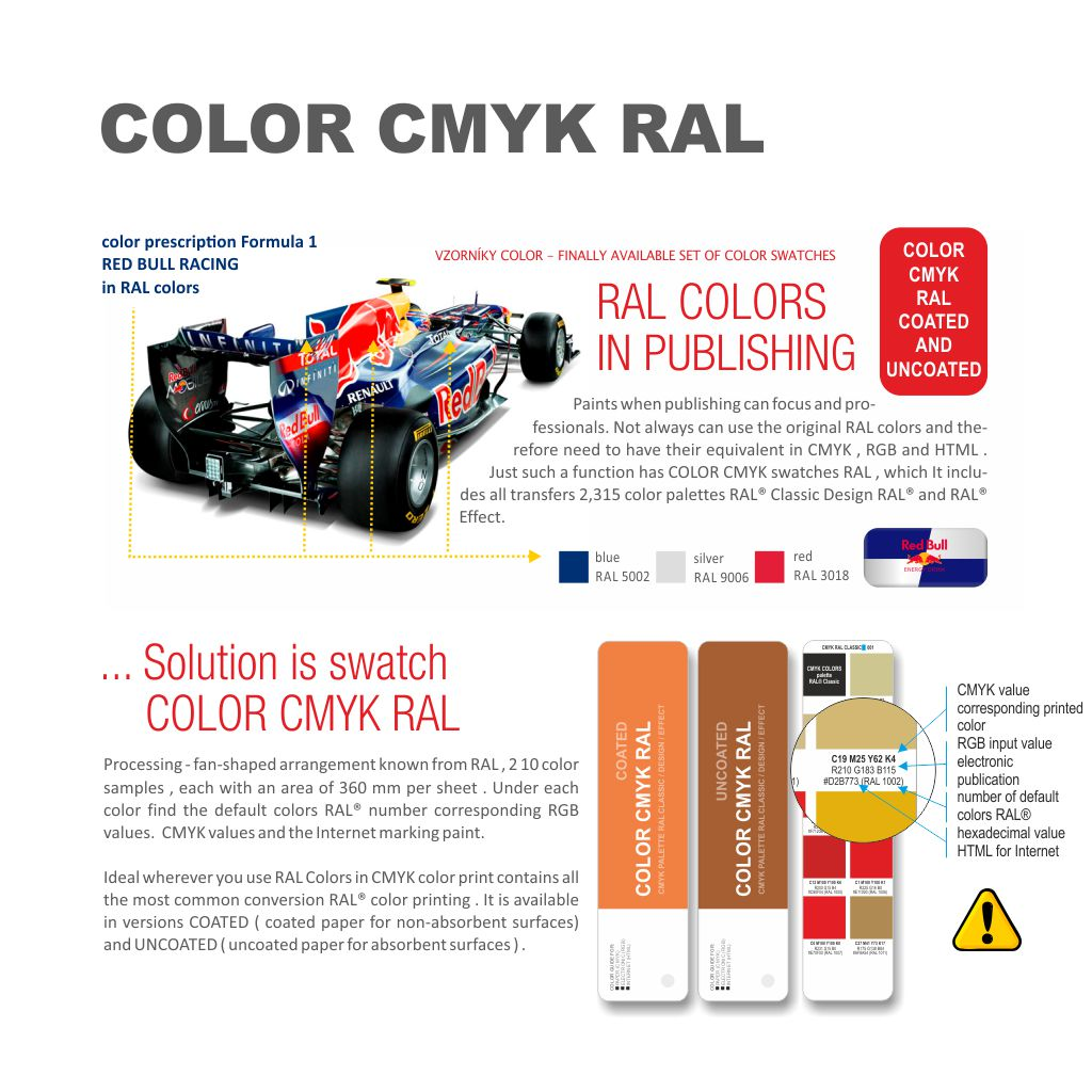 CMYK COLOR RAL Presents Color Spaces The CLASSIC DESIGN And EFFECT In World Of Digital Print