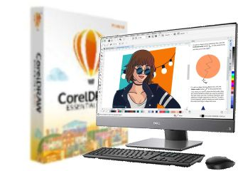 CorelDRAW ESSENTIALS 2020 LIC PC1
