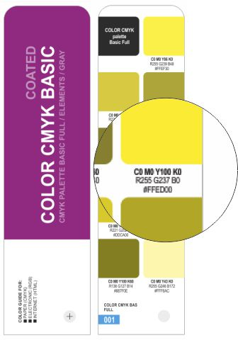 COLOR CMYK BASIC COATED