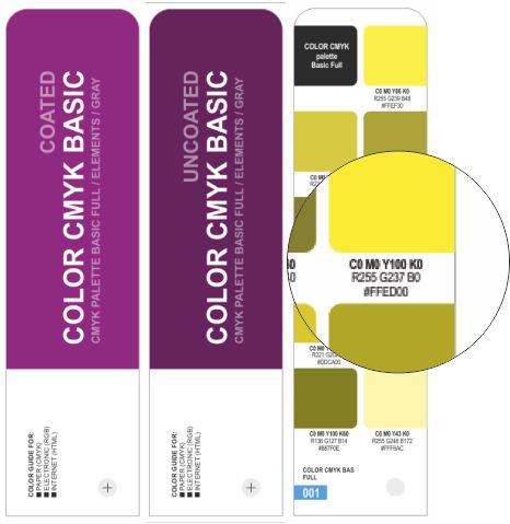 COLOR CMYK BASIC COATED/UNCOATED