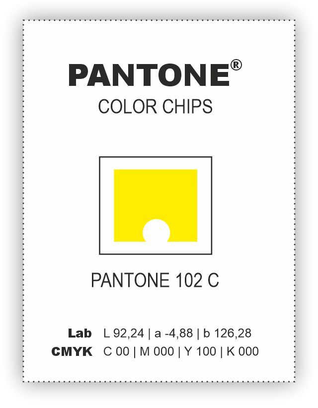 PANTONE COLOR CHIPS COATED s dírou