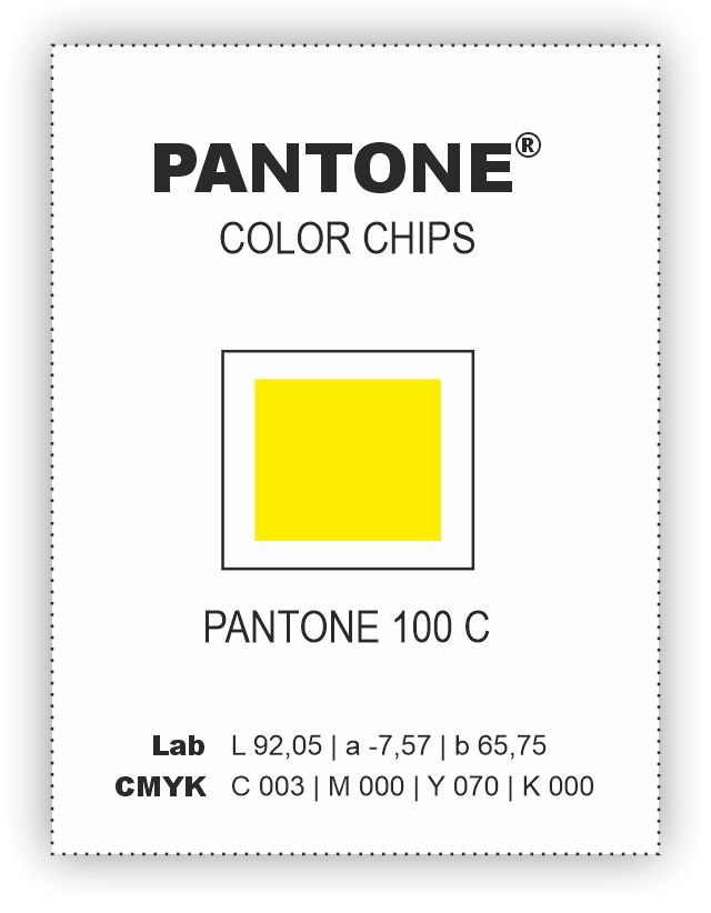 PANTONE COLOR CHIPS COATED bez díry