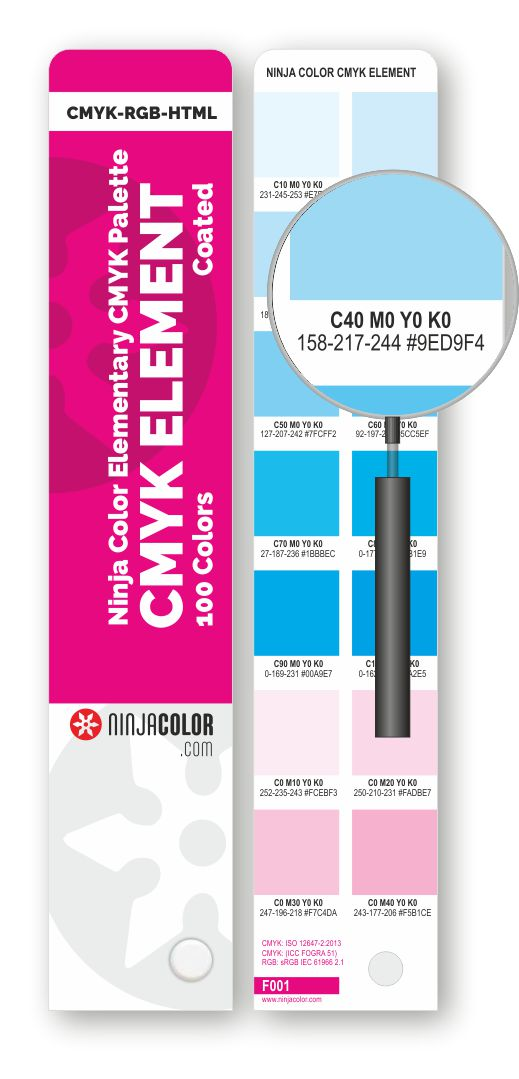 NINJA COLOR CMYK ELEMENT Coated