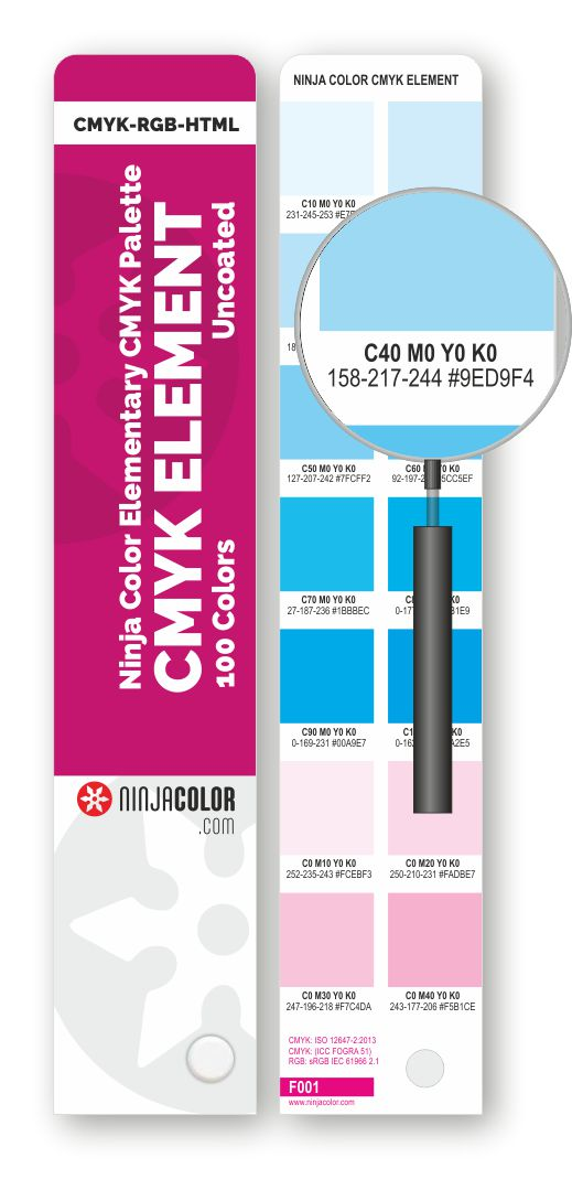 NINJA COLOR CMYK ELEMENT Uncoated