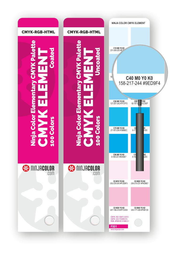 NINJA COLOR CMYK ELEMENT Coated/Uncoated