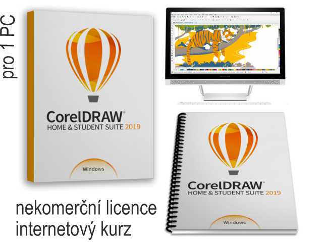 CorelDRAW HS 2019 PC1 edice 2020
