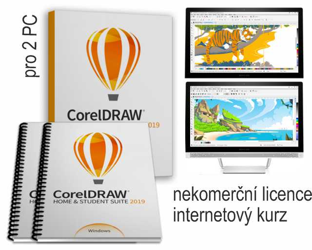CorelDRAW HS 2019 PC2 edice 2020