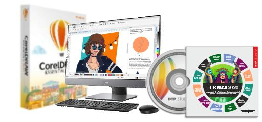CorelDRAW ESSENTIALS 2020 BOX PLUS (SPECIAL)