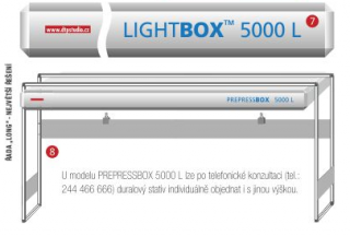 LightBOX 5000K Electronic  LONG