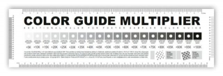 COLOR GUIDE MULTIPLIER BLACK