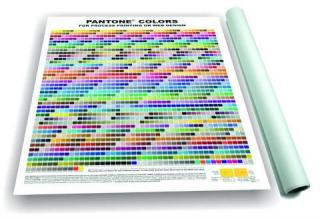 Uncoated PANTONE COLORS for process printing and web design