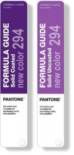 Pantone FORMULA GUIDE SOLID 294 new color C+U
