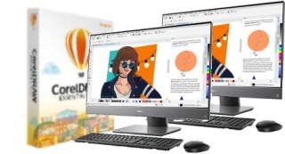 CorelDRAW ESSENTIALS 2020 LIC PC2